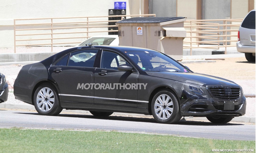 2014 mercedes benz s class strips more cladding for How much is a 2014 mercedes benz s550