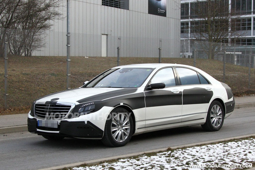 2014 mercedes benz s class revealed in new spy shots for New mercedes benz s class 2014