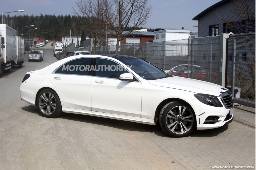 2014 mercedes benz s class revealed in new spy shots. Cars Review. Best American Auto & Cars Review