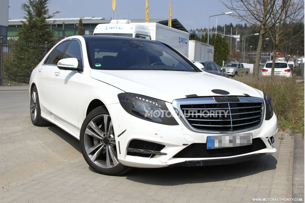 2014 mercedes benz s class revealed in new spy shots for New mercedes benz s class