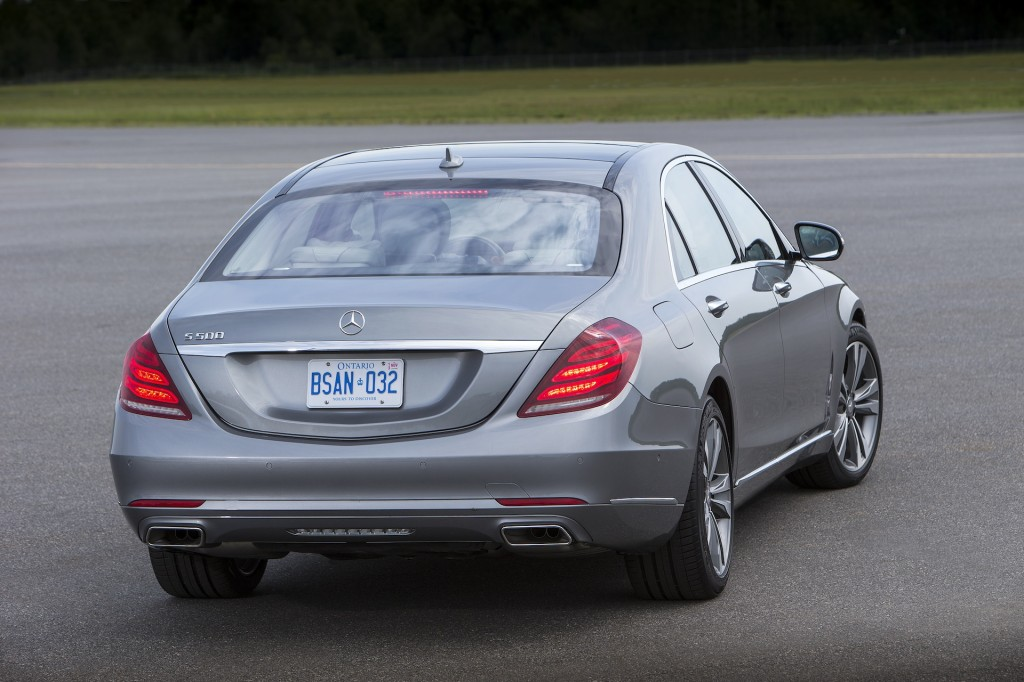 Mercedes benz introduces sharper pricing for 2014 s class for 2014 mercedes benz s class s550