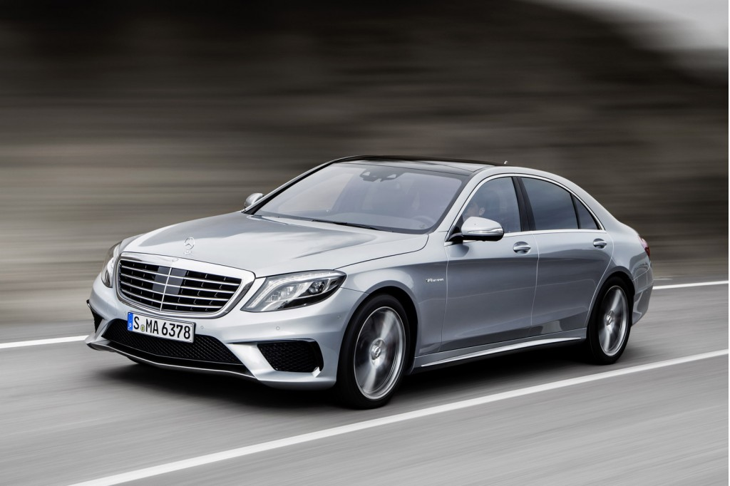 2014 mercedes benz s63 amg revealed video. Black Bedroom Furniture Sets. Home Design Ideas