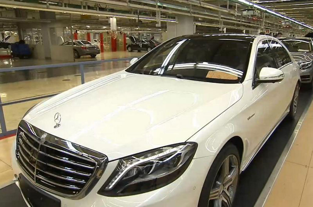 2014 mercedes benz s63 amg revealed early in official video for Mercedes benz s63 2014