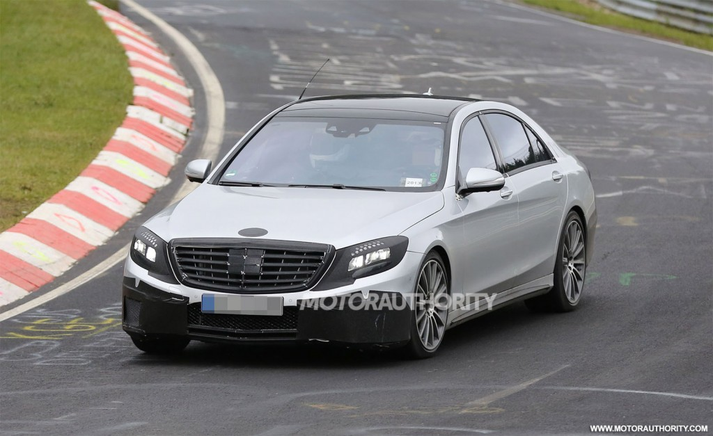 2014 Mercedes Benz S63 Amg Spy Shots.html | Autos Weblog