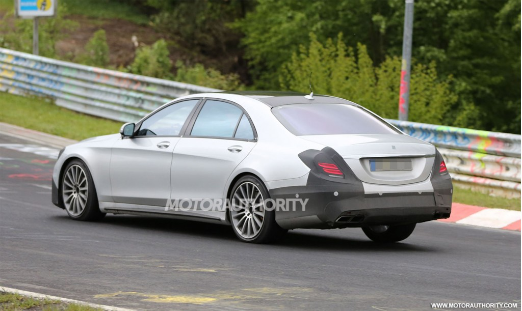 2014 mercedes benz s63 amg spy shots autos weblog for Mercedes benz s63 amg 2014
