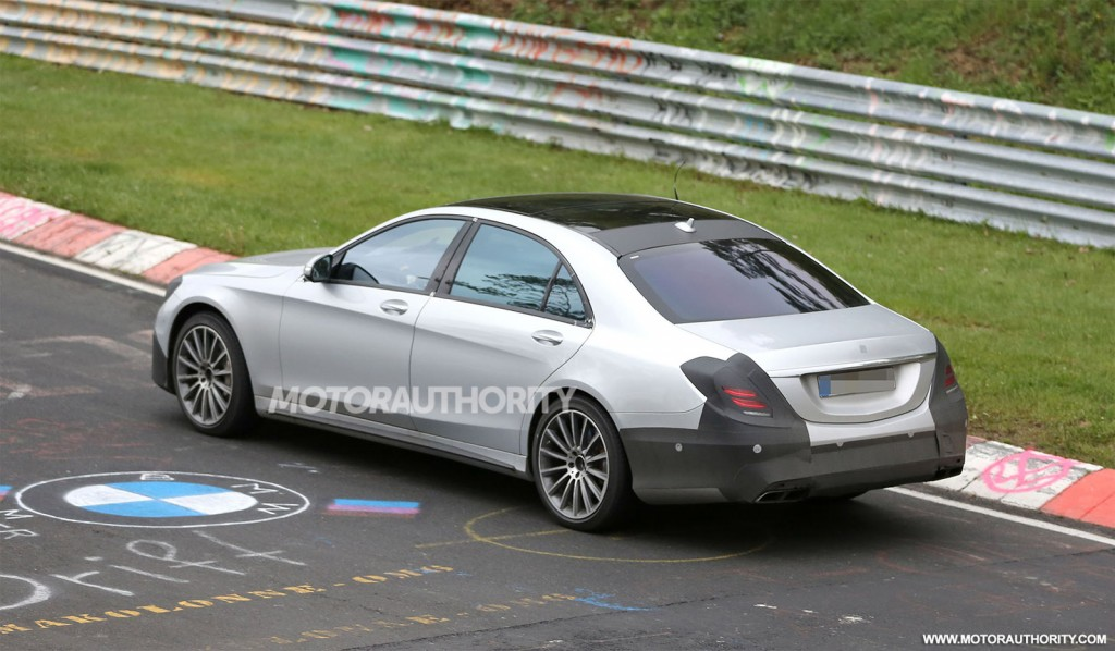 2014 mercedes benz s63 amg spy shots for Mercedes benz s63 amg 2014