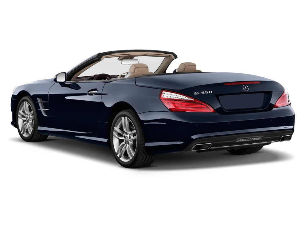 2014 mercedes benz sl class 2 door roadster sl550 angular rear. Cars Review. Best American Auto & Cars Review