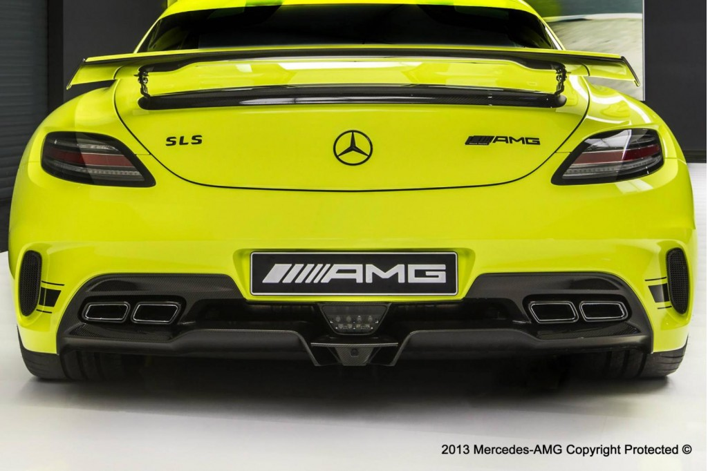 Amg performance studio personalization department builds for 2014 mercedes benz sls amg black series
