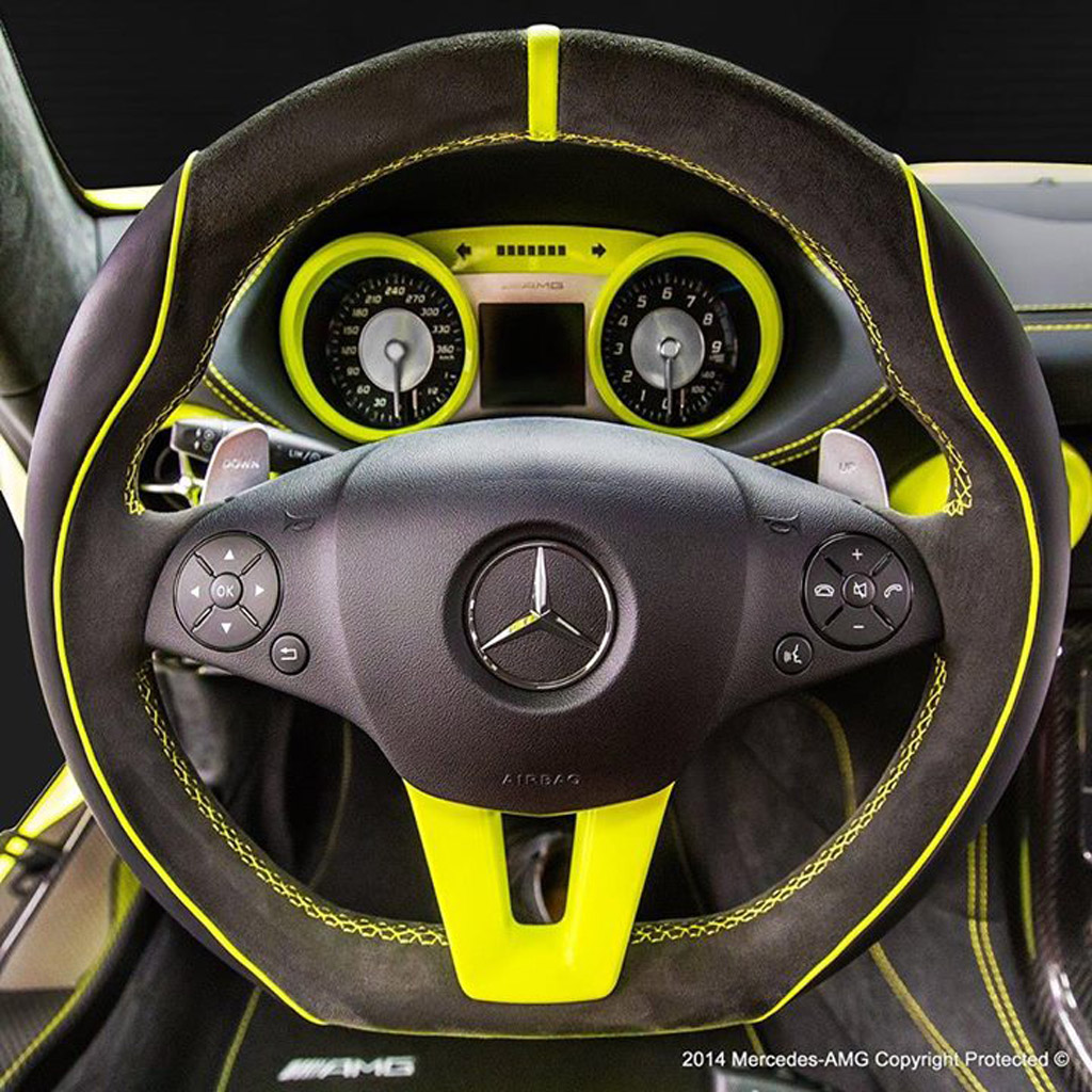 2014 Mercedes Benz Sls Amg Black Series First Drive: Fans Nominate AMG Afterglow As Name Of AMG's Latest