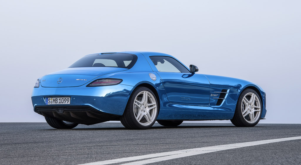 2013 mercedes benz sls amg electric drive sexy but expensive for Mercedes benz sls amg electric drive price