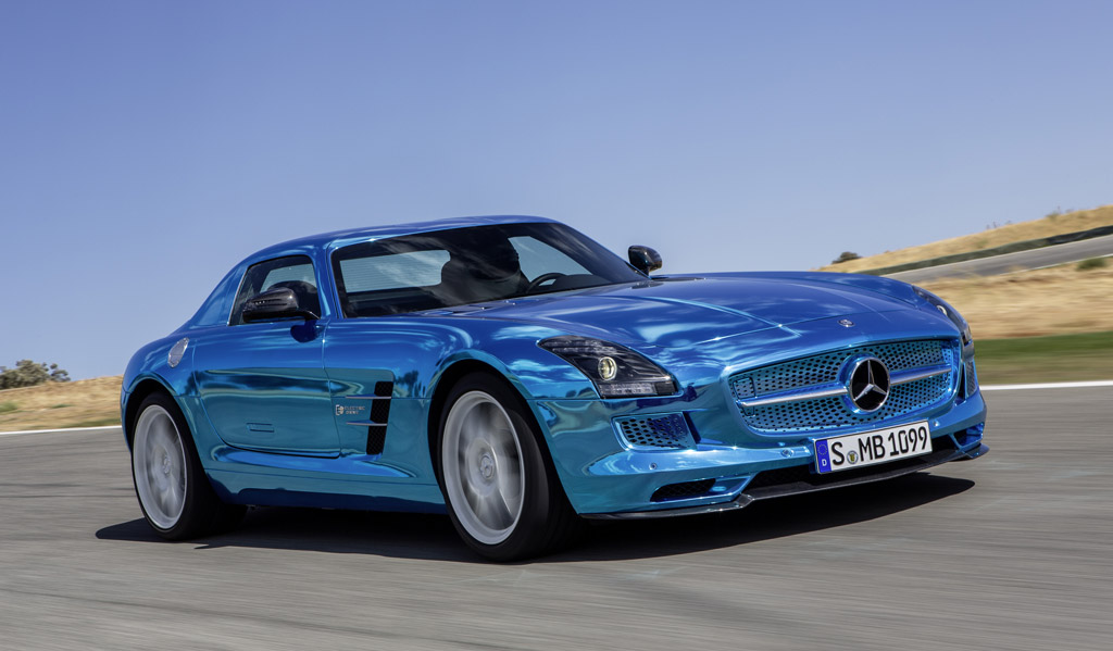 2013 mercedes benz sls amg electric drive sexy but expensive. Black Bedroom Furniture Sets. Home Design Ideas