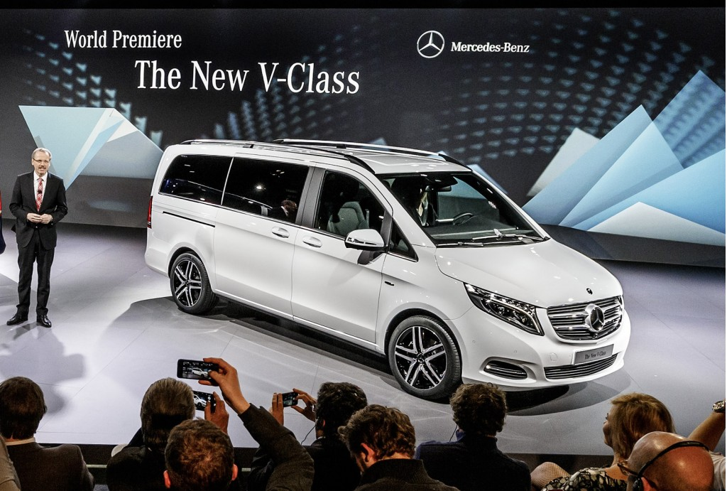 2014 mercedes benz v class revealed video. Cars Review. Best American Auto & Cars Review