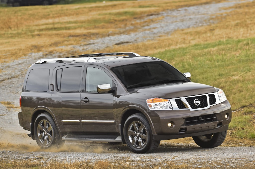 2015 nissan armada pictures photos gallery motorauthority. Black Bedroom Furniture Sets. Home Design Ideas