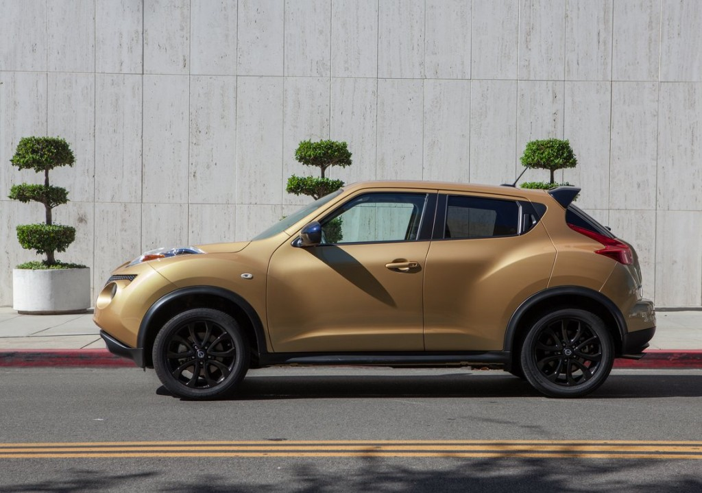 2014 nissan juke new equipment revised features mpg unchanged. Black Bedroom Furniture Sets. Home Design Ideas