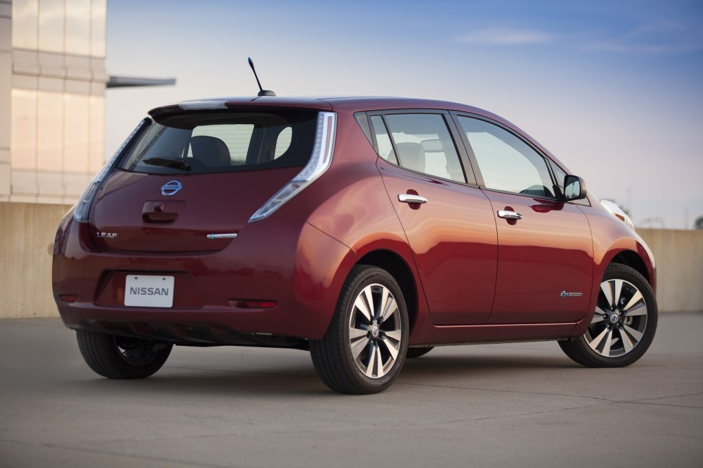 2014 Nissan Leaf Pictures Photos Gallery Motorauthority