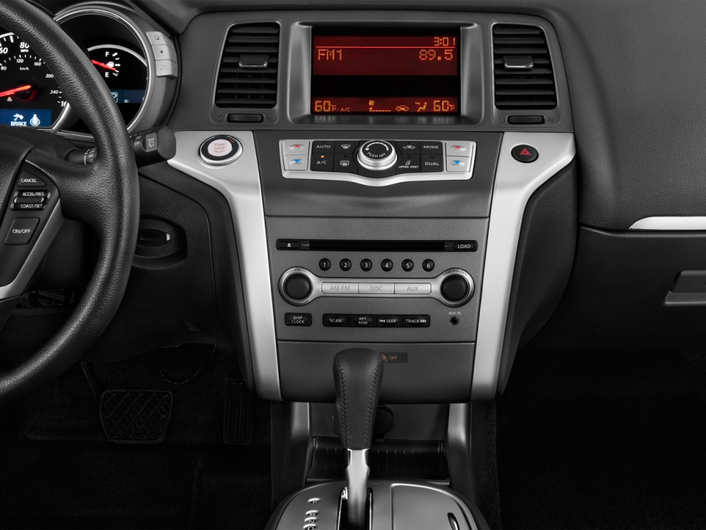 image 2014 nissan murano 2wd 4 door s instrument panel. Black Bedroom Furniture Sets. Home Design Ideas