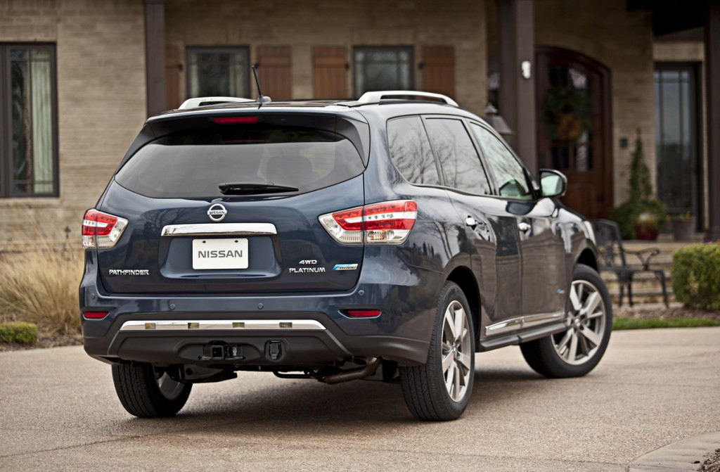 2014 Nissan Pathfinder Hybrid Is It Hybrid Enough To Matter
