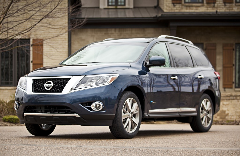 2014 Nissan Pathfinder - Photo Gallery