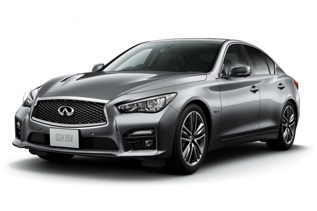 Q50 To Be Sold In Japan As Infiniti-Badged Nissan Skyline?