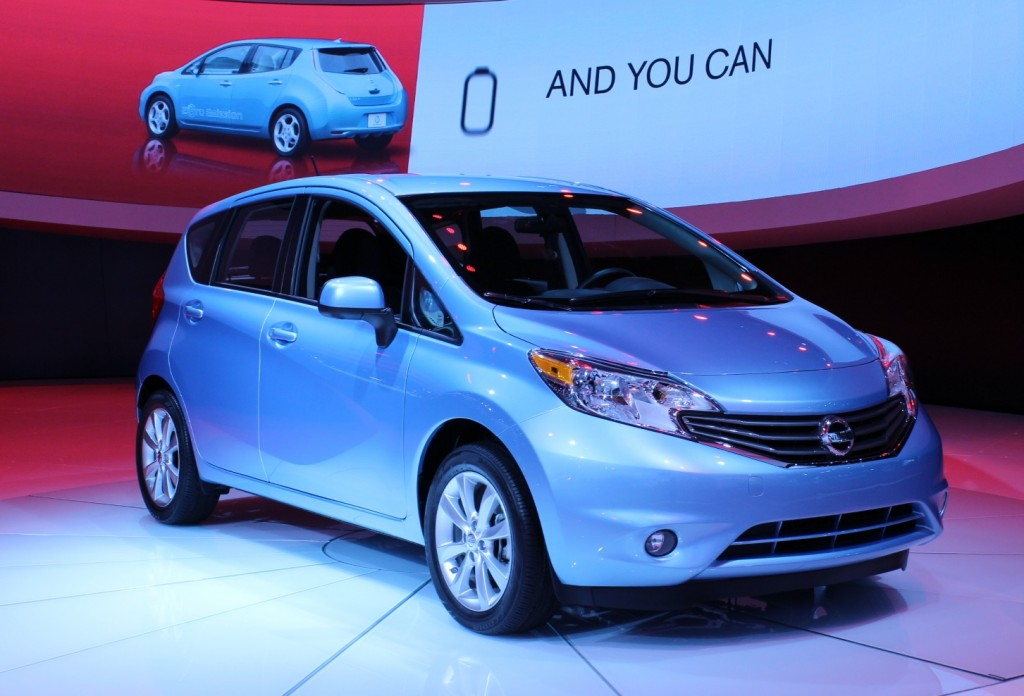 2014 nissan versa note affordable versatile hatchback bows at detroit. Black Bedroom Furniture Sets. Home Design Ideas