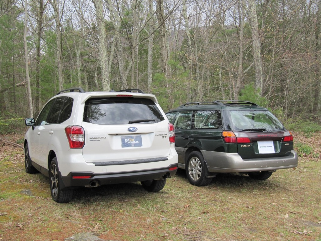 2014 subaru outback and forester comparison autos post. Black Bedroom Furniture Sets. Home Design Ideas