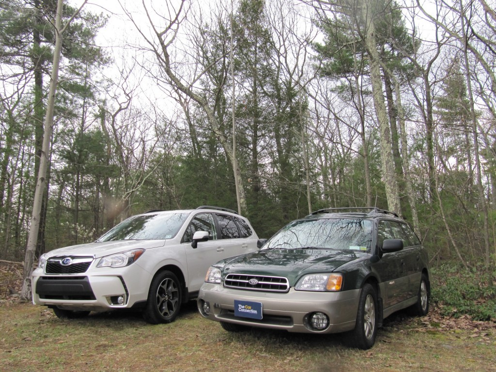 2014 Subaru Forester vs Outback