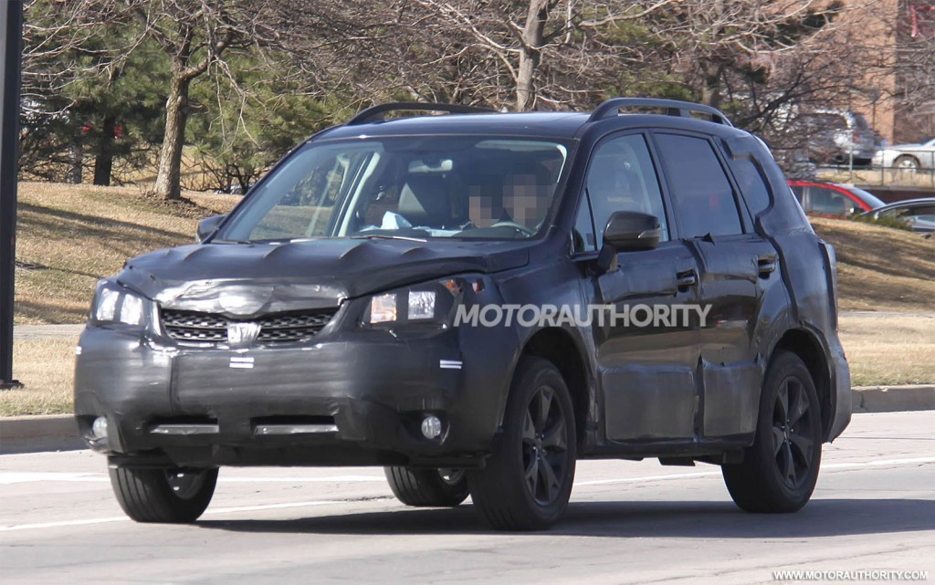 2016 Subaru Forester Spy Shots | Release Date, Price and Specs