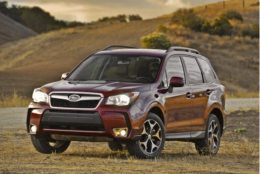 the following articles: 2014 Subaru Forester 2.0XT Turbo: First Drive