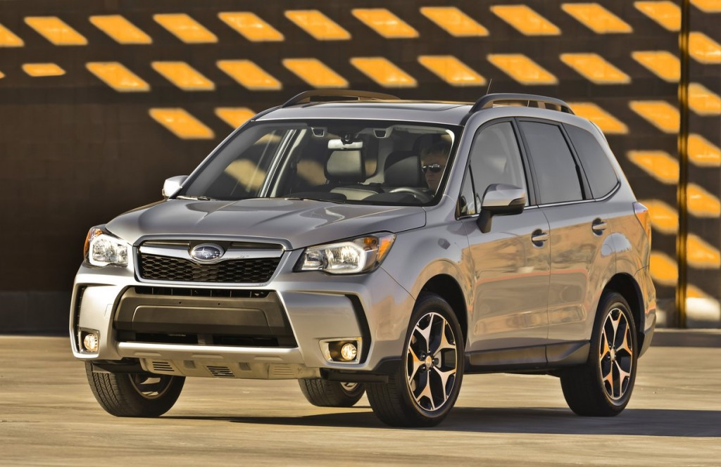 2014 subaru forester 2 0xt turbo first drive. Black Bedroom Furniture Sets. Home Design Ideas