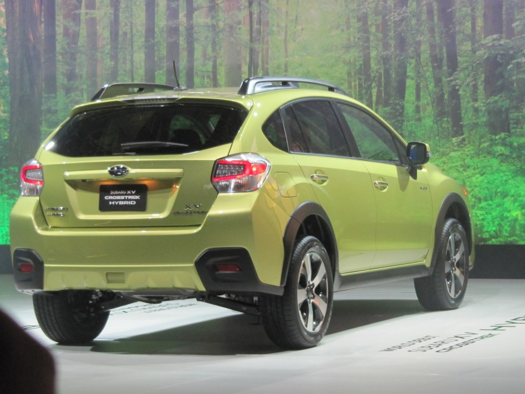 2014 subaru xv crosstrek hybrid ny auto show full details. Black Bedroom Furniture Sets. Home Design Ideas