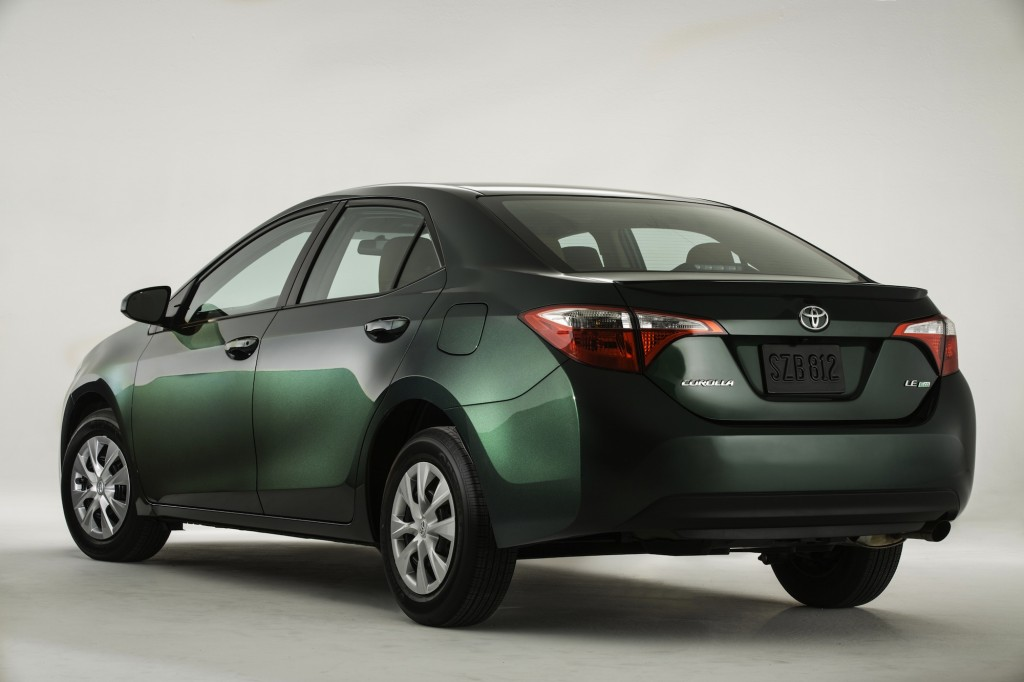 New 2014 Toyota Corolla Unveiled Eco Model Aims At 40 Mpg