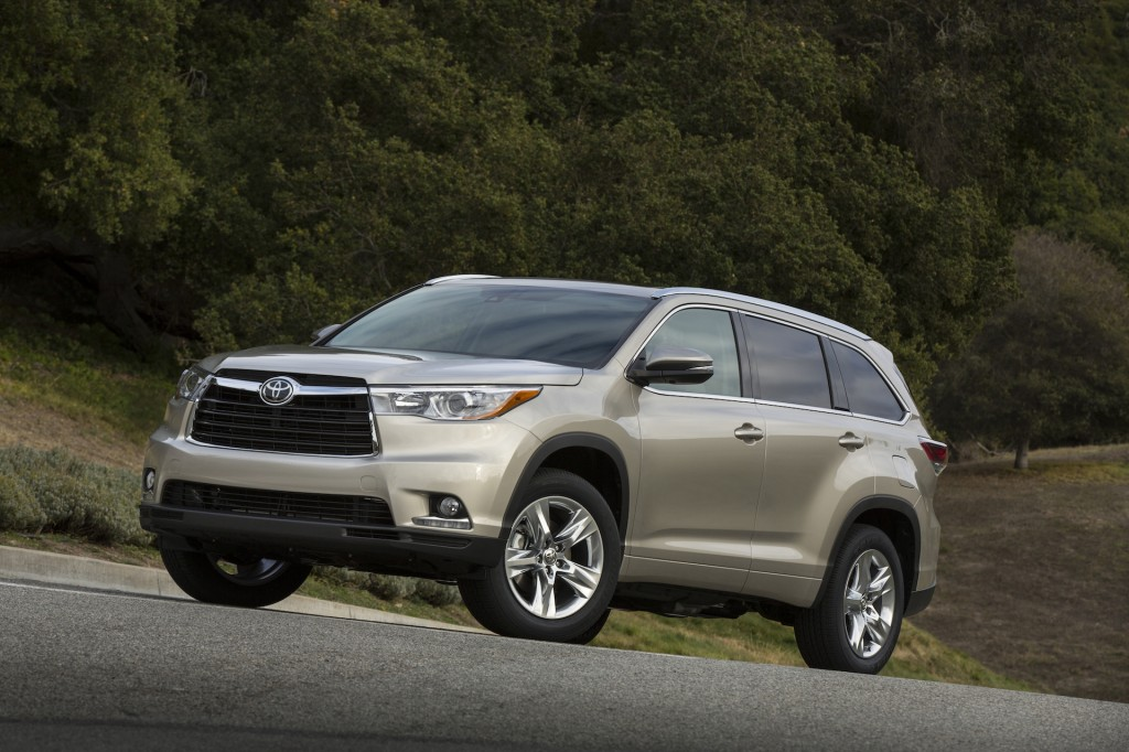 2014 toyota highlander pictures photos gallery green car. Black Bedroom Furniture Sets. Home Design Ideas