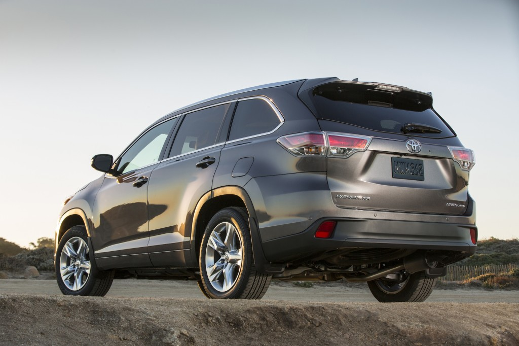 2014 Toyota Highlander Pictures Photos Gallery The Car