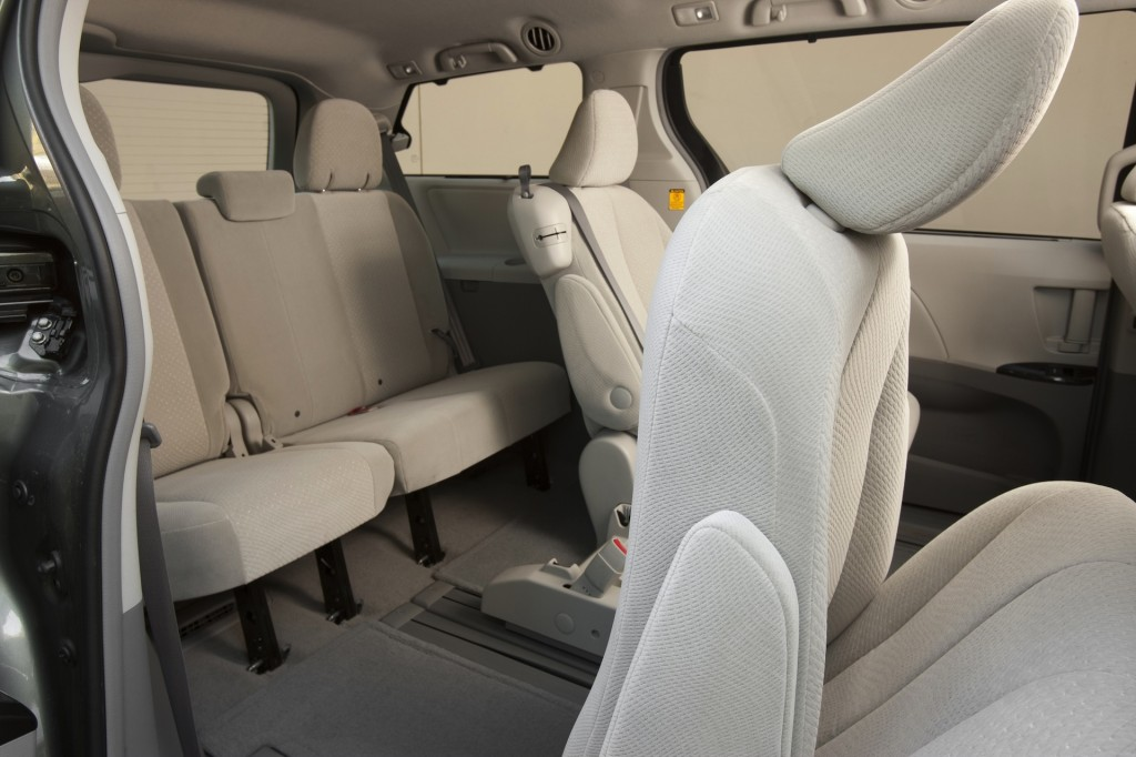 2014 toyota sienna recalled for potential rollaway issue. Black Bedroom Furniture Sets. Home Design Ideas