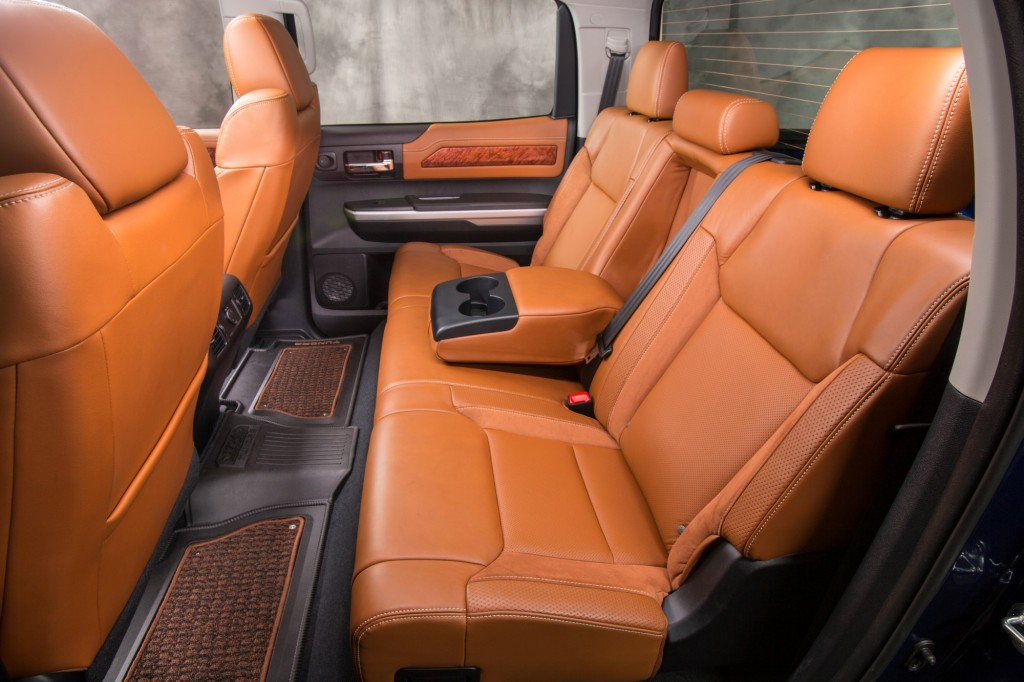 Alfa img showing gt tundra 1794 edition interior