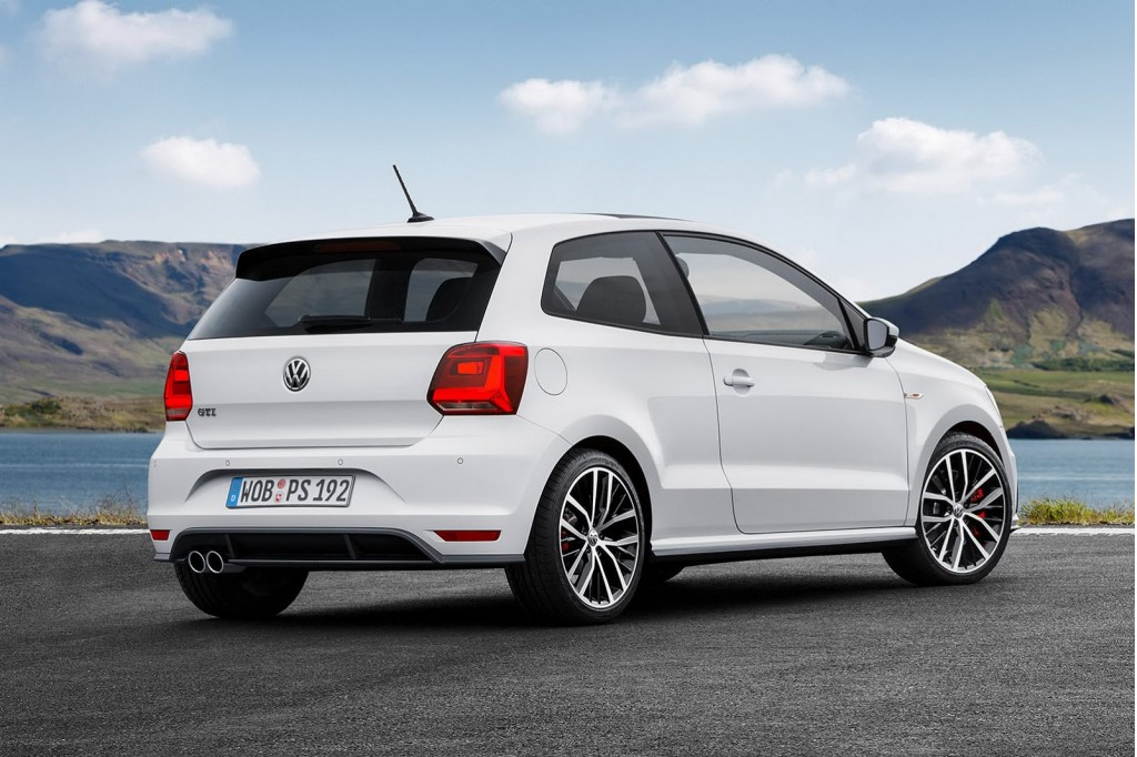 more powerful volkswagen polo gti headed for paris auto show. Black Bedroom Furniture Sets. Home Design Ideas