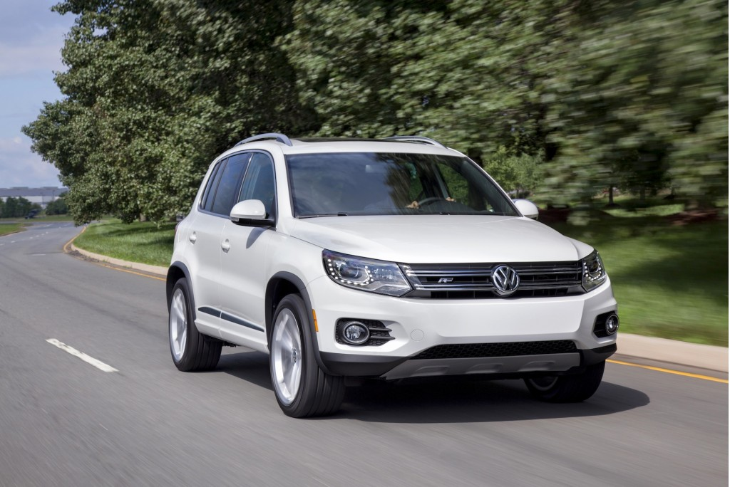 2014 volkswagen tiguan vw pictures photos gallery motorauthority. Black Bedroom Furniture Sets. Home Design Ideas