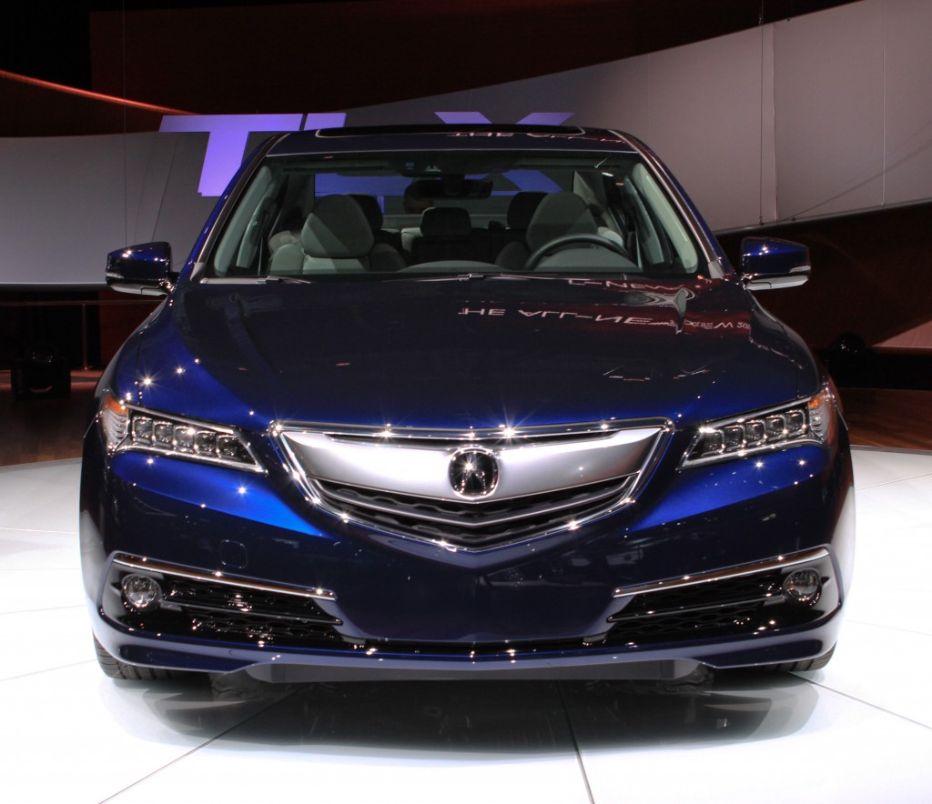 2015 Acura TLX: 2014 New York Auto Show Live Photos