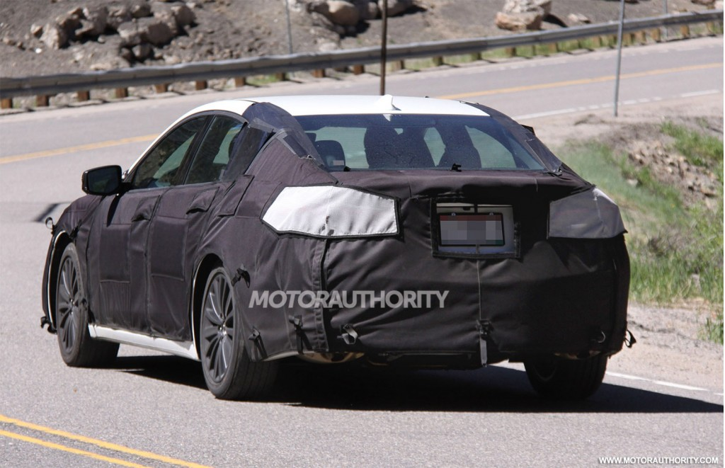 2015 Acura TLX Spy Shots