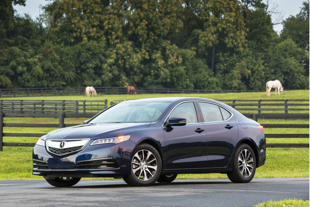 2015 Acura TLX: Best Car To Buy 2015 Nominee