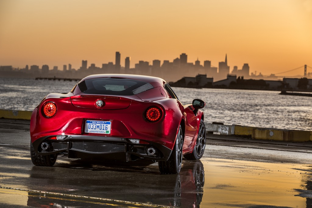 2015 alfa romeo 4c first drive video. Black Bedroom Furniture Sets. Home Design Ideas