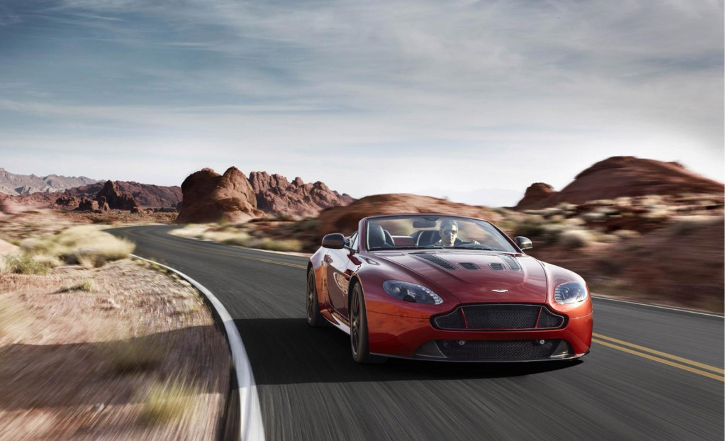2015 aston martin v12 vantage s roadster rolls in video. Cars Review. Best American Auto & Cars Review