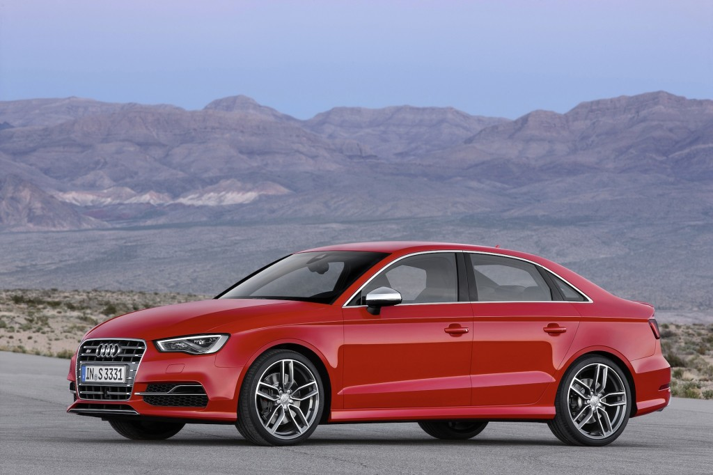 2015 audi s3 sedan revealed video. Black Bedroom Furniture Sets. Home Design Ideas