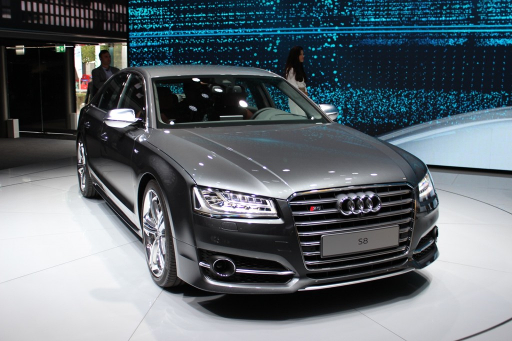 2015 audi a8 and s8 live photos and video from frankfurt. Black Bedroom Furniture Sets. Home Design Ideas