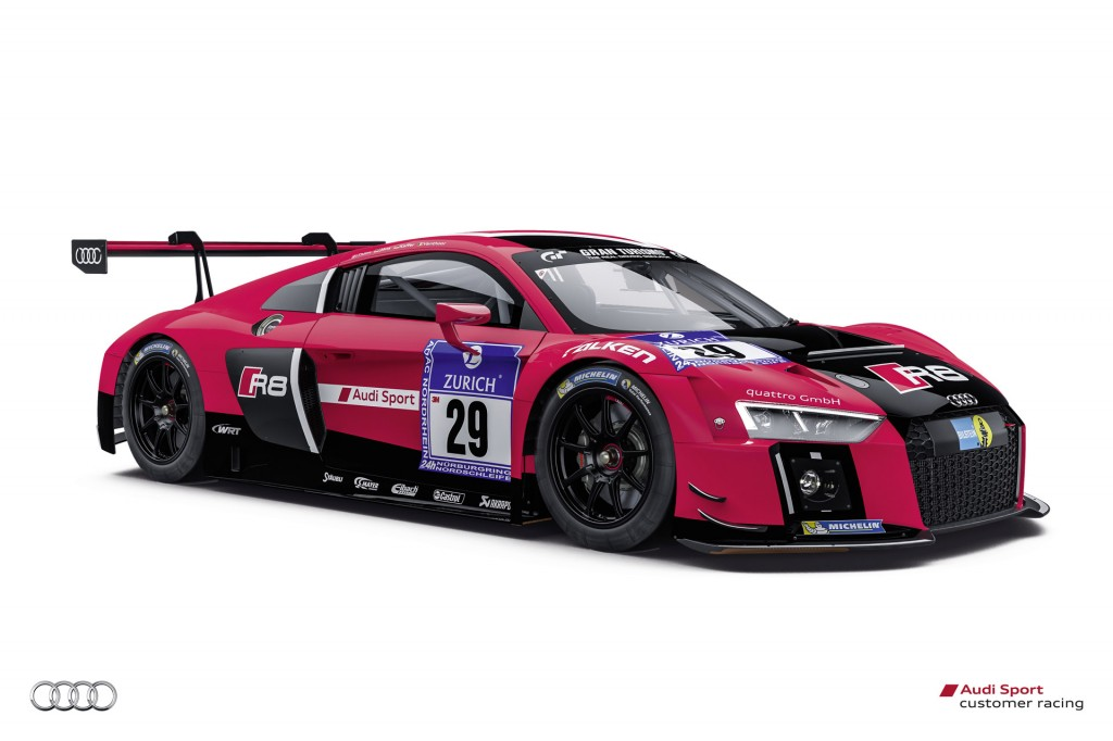 New Audi R8 Lms Ready For 2015 N 252 Rburgring 24 Hours Race