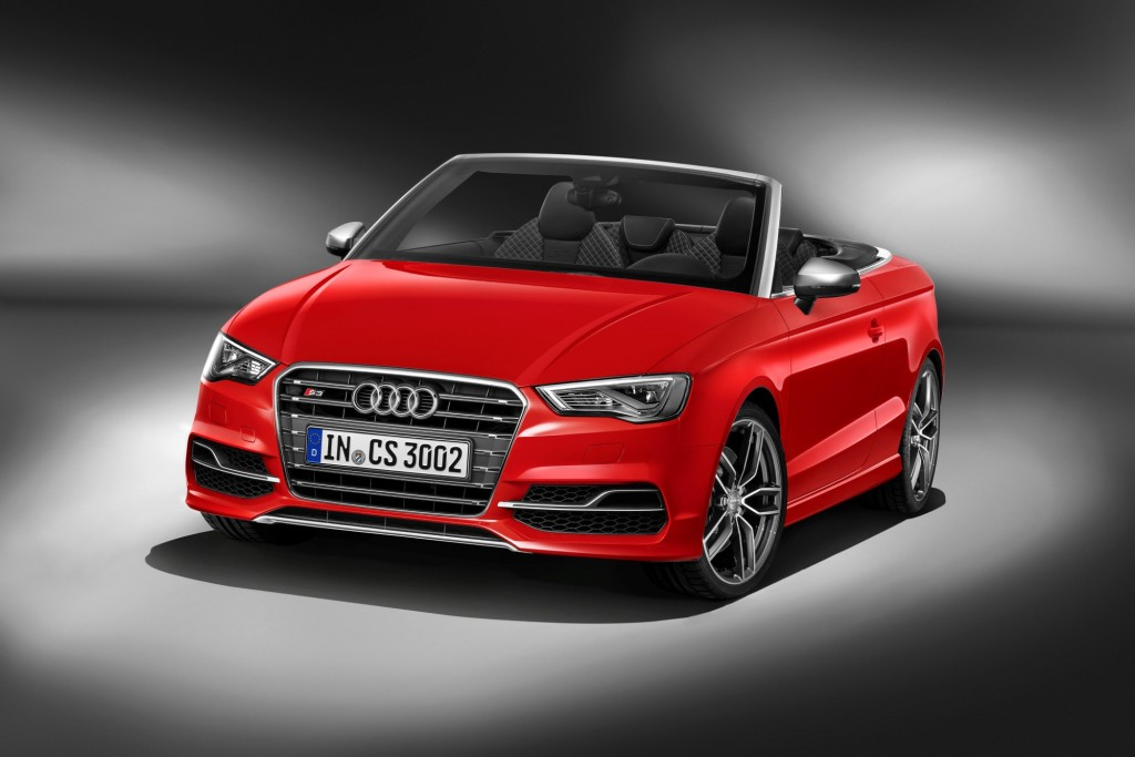 2015 audi s3 cabriolet 2014 geneva motor show live photos and video. Black Bedroom Furniture Sets. Home Design Ideas