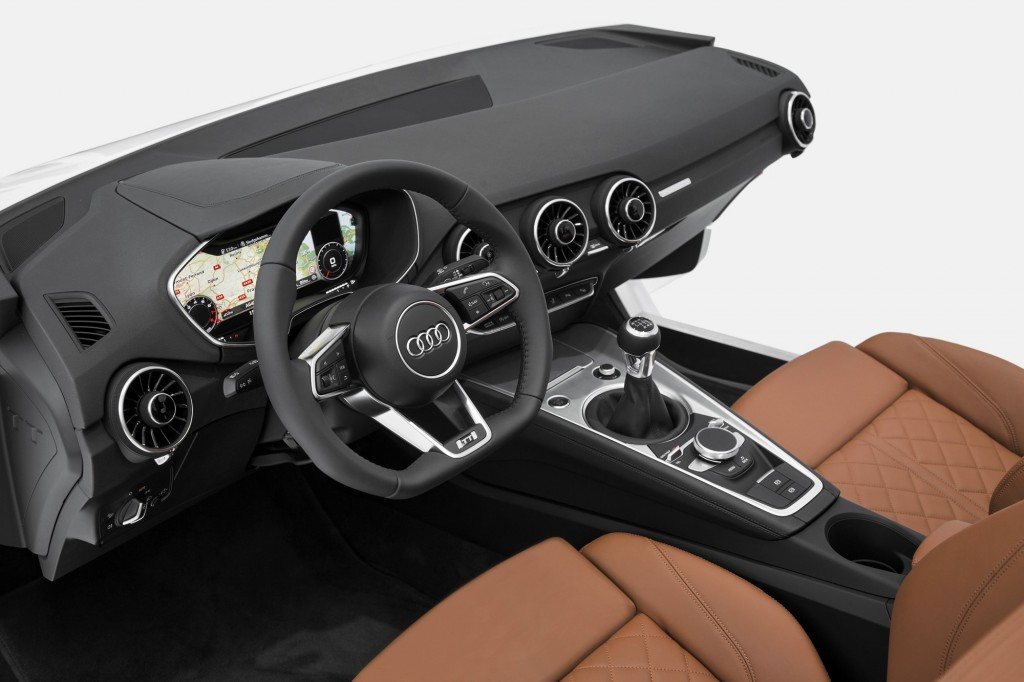 2015 audi tt interior previewed at ces for Audi tt interieur