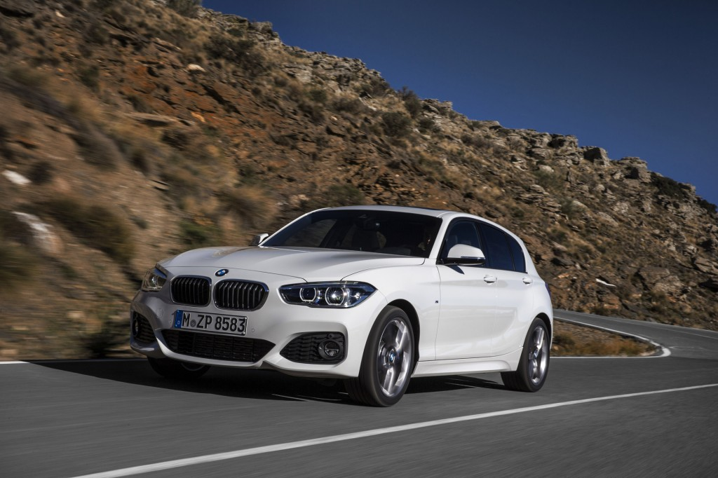Image 2015 Bmw 1 Series Hatchback Equipped With M Sport