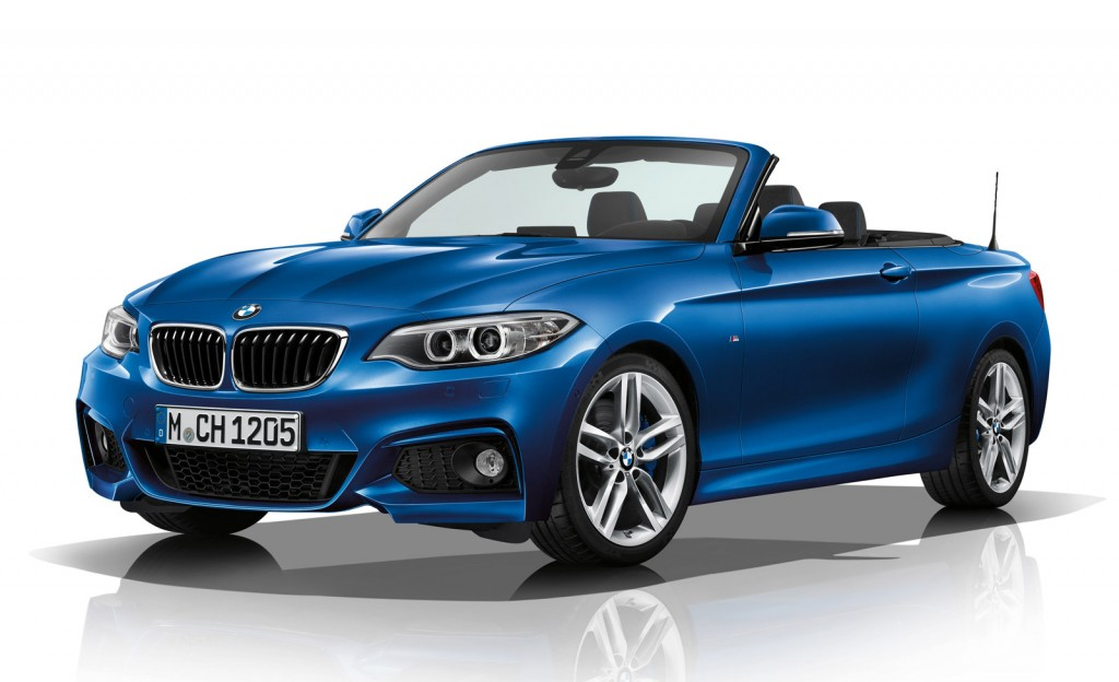 2015 bmw 2 series convertible gets m sport package. Black Bedroom Furniture Sets. Home Design Ideas