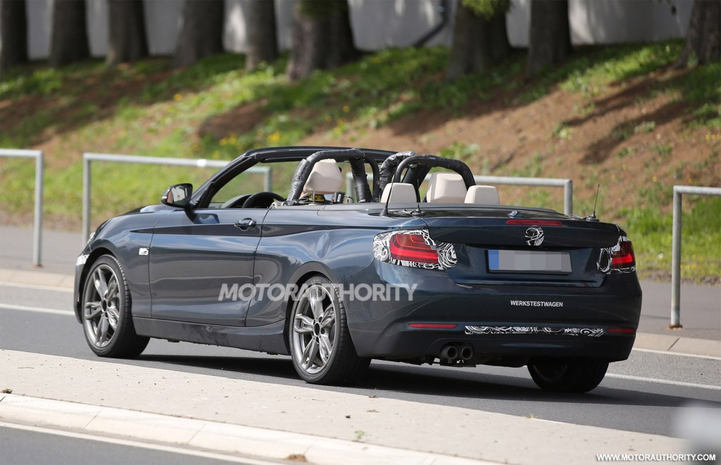 2015 Bmw 2 Series Convertible Spy Shots